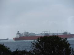 ships in mist