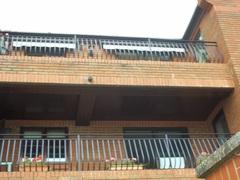 Flats with balcony