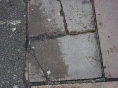 Uneven pavement1