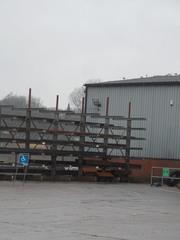 Racking at warehouse