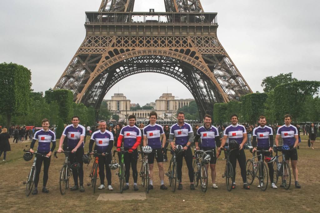 London to Paris Bike Ride 2016