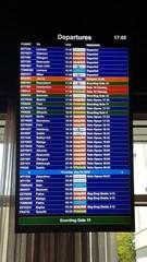 Airport departures board 2