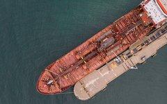 Loading ship