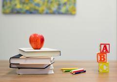 Teacher\'s desk