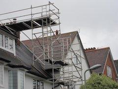 House scaffolding